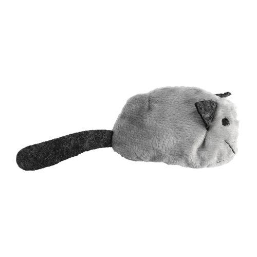 Crazy Cat Funny Mouse - Souris avec cataire - Gris
