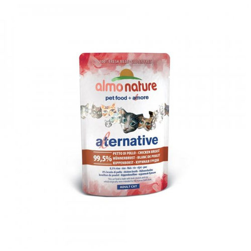 Almo Nature Alternative - Blanc de poulet - Boîte - 24 x 55 g