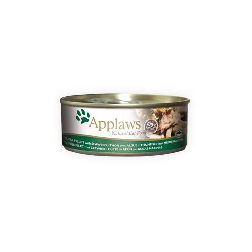 Applaws - Filet de thon et algue - Boîte - 24 x 70 g