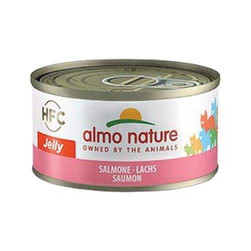 Almo Nature HFC 70 Jelly Katzenfutter - Dosen - Lachs - 24 x 70g