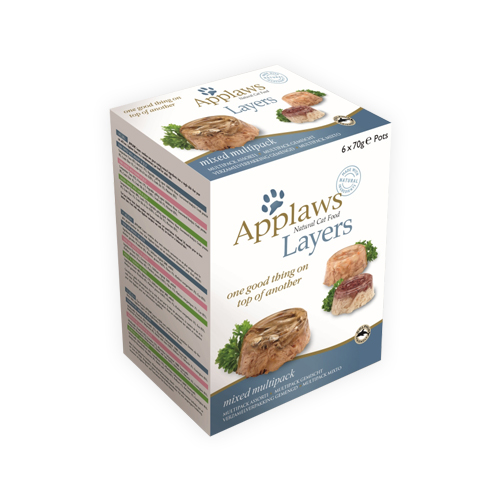 Applaws Multipack Katzenfutter - Mixed Layers
