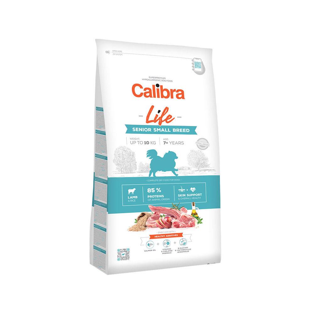 Calibra Dog Life Senior Small Breed - Agneau