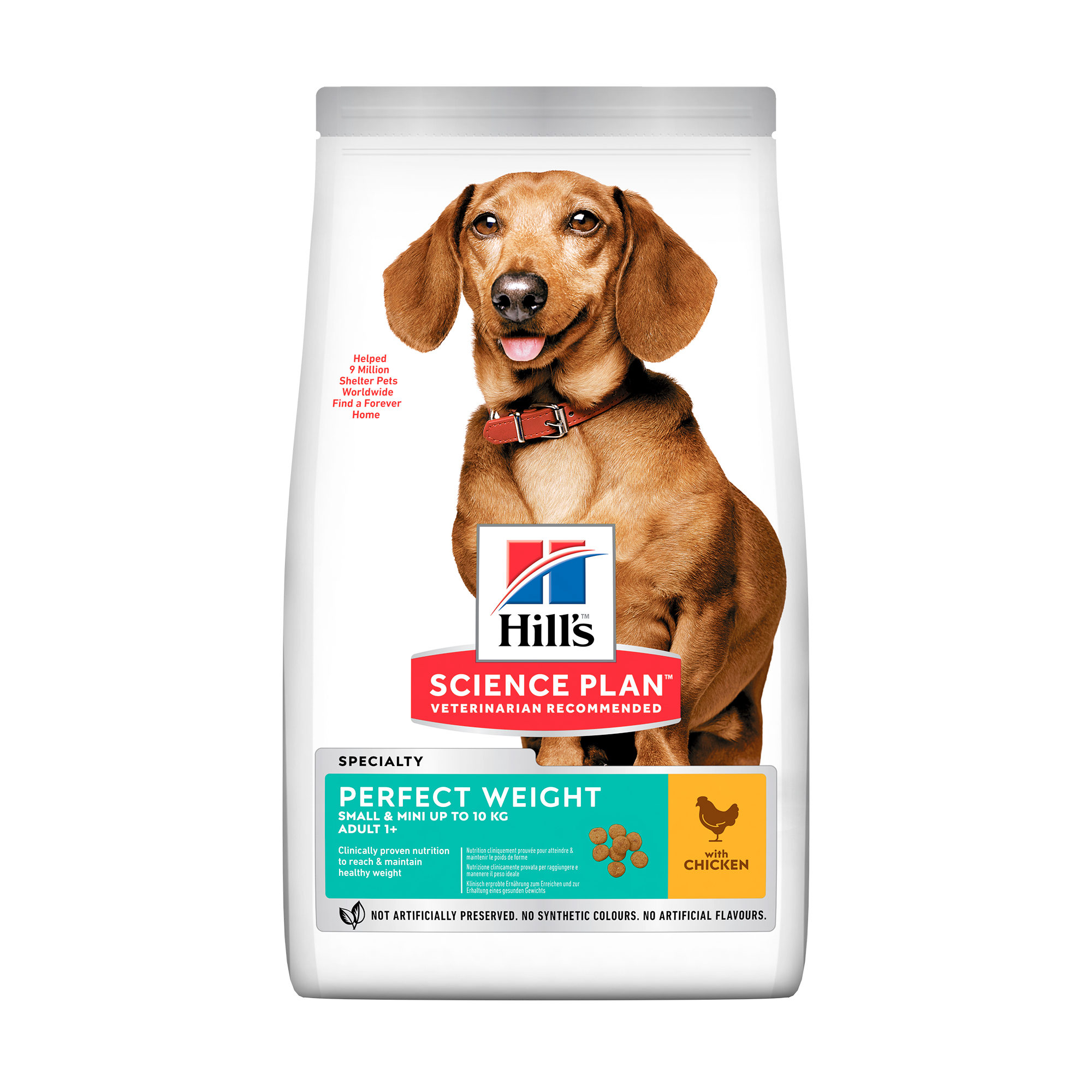 Hill's Science Plan Perfect Weight Adult Small & Mini Hundefutter