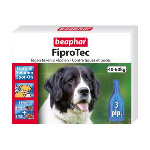 Beaphar FiproTec - Spot-On pour chien - 40 - 60 kg
