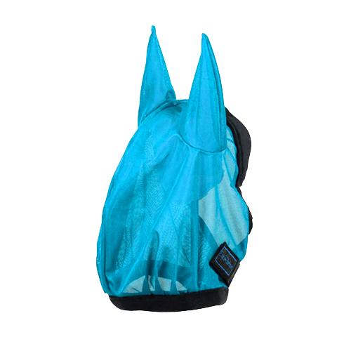 Equi-Thème - Masque anti mouche - Eclat - Neon Blue