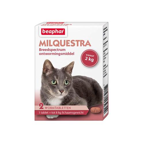 Beaphar Milquestra - Gros chat - 2 comprimés