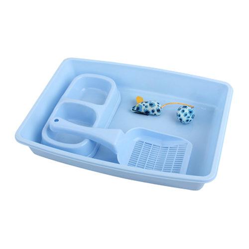 Pawise - Kit de démarrage pour chaton - Bleu