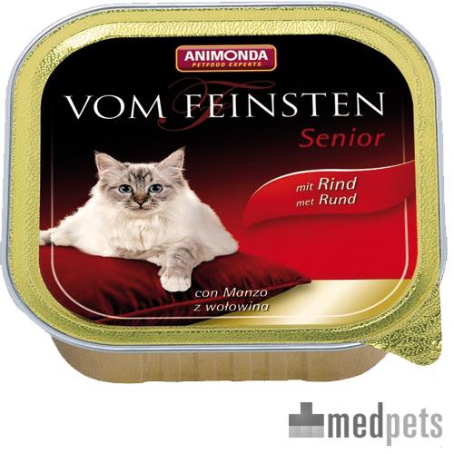 Animonda Vom Feinsten Senior Katenzfutter - Schälchen - Rind - 32 x 100 g