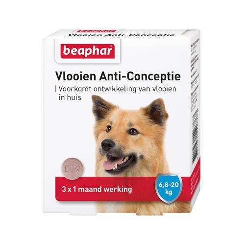 Beaphar - Lutte contre les puces pour chien - 6,7 - 20 kg