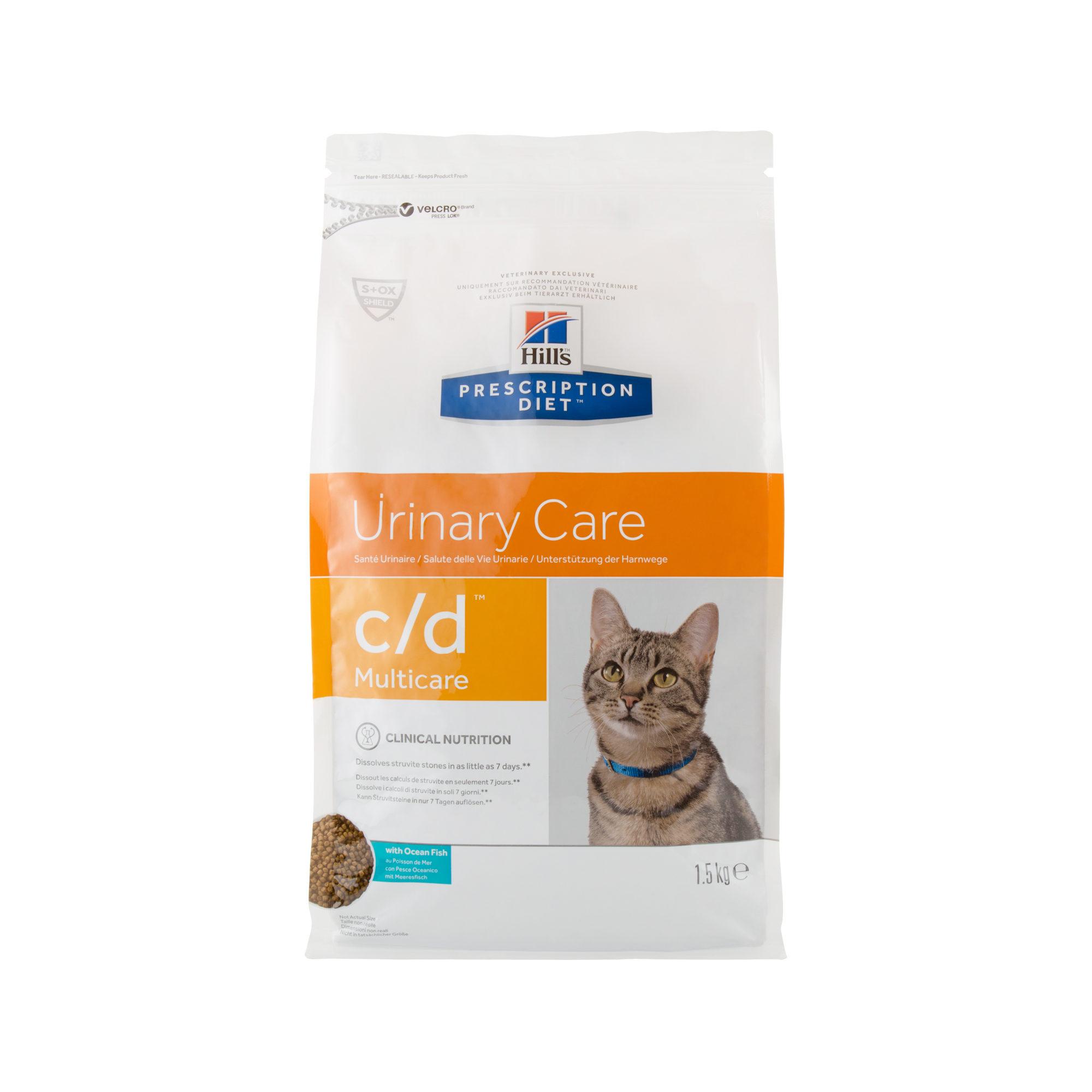 Hill's Prescription Diet c/d Multicare Katzenfutter - Meeresfisch