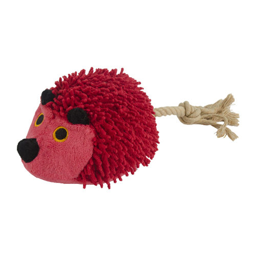 Fuzzle - Hérisson avec queue - Rouge