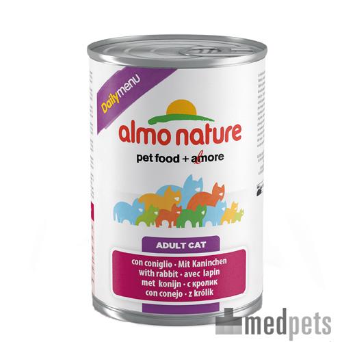 Almo Nature Daily Menu - Lapin - Boîte - 24 x 400 g