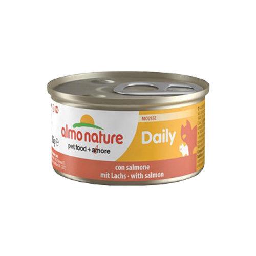 Almo Nature Daily Menu Mousse - Saumon - Boîte - 24 x 85 g