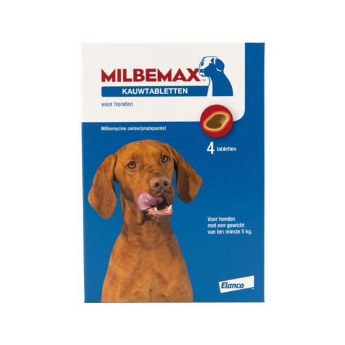 Milbemax - Comprimé à croquer - Grand chien - 4 comprimés