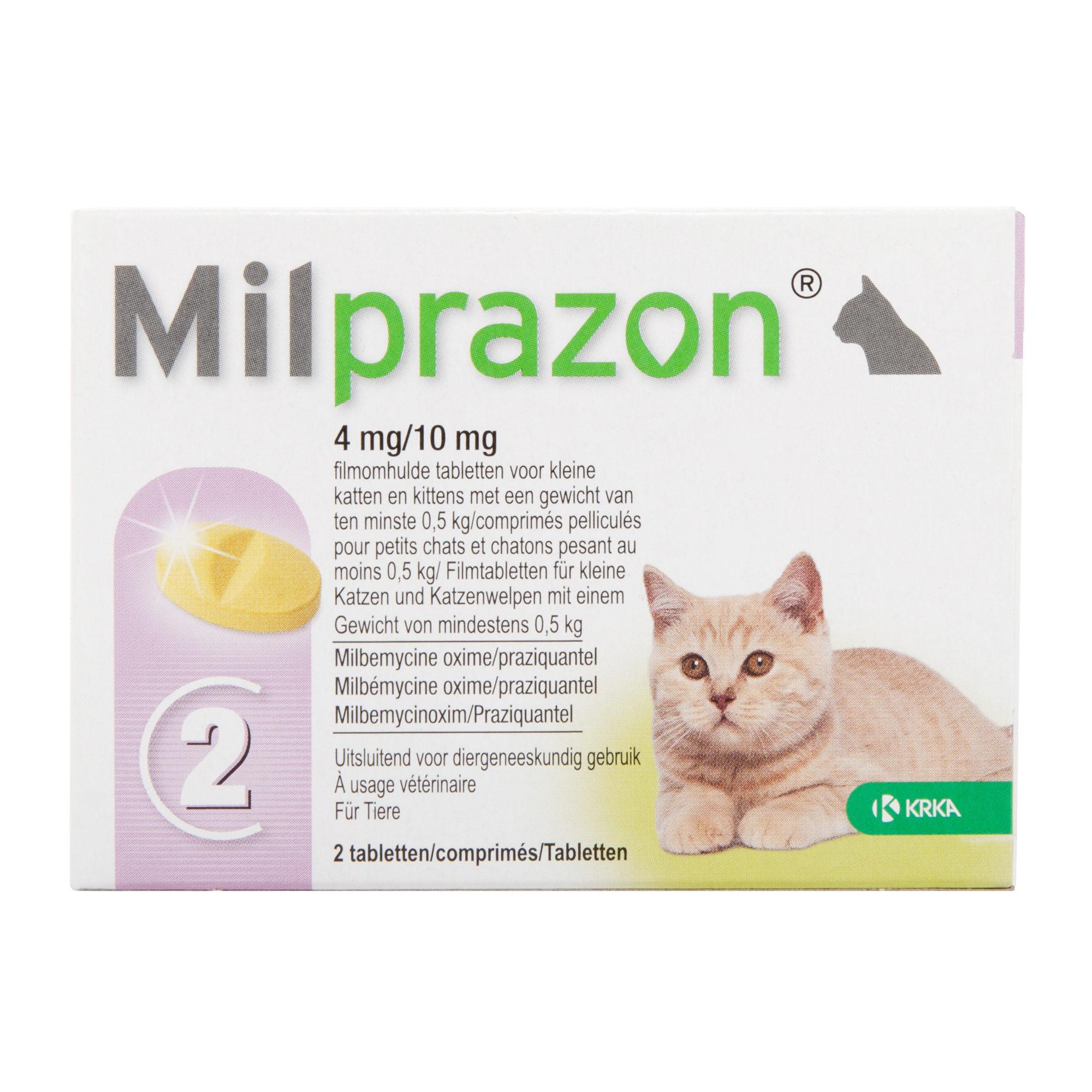 Milprazon - Petit chat (4 mg)