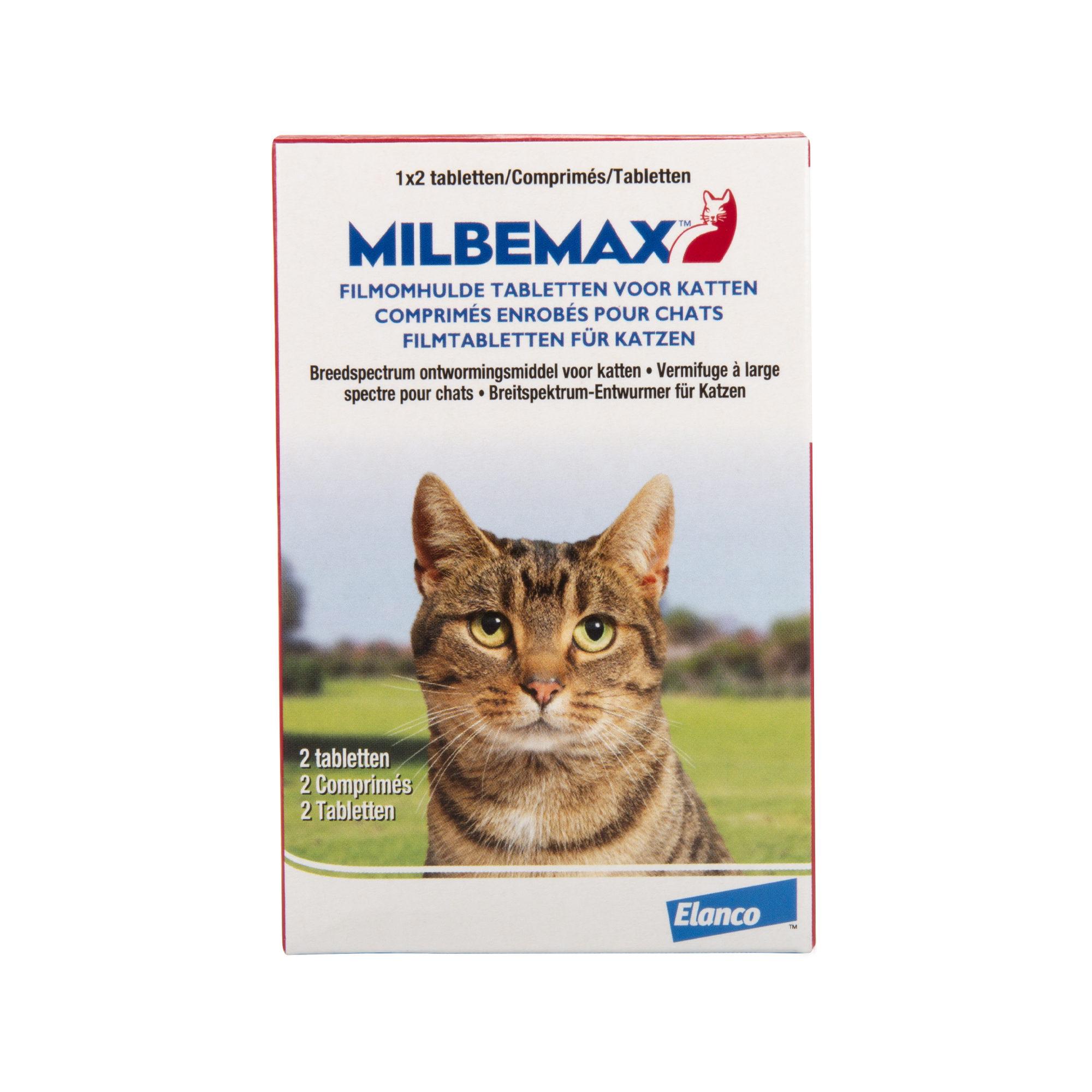 Milbemax - Gros chat - 2 comprimés