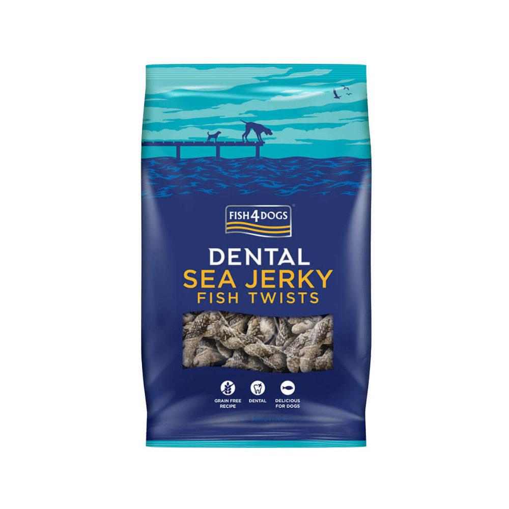 Fish4Dogs Dental - Sea Jerky Fish Twists
