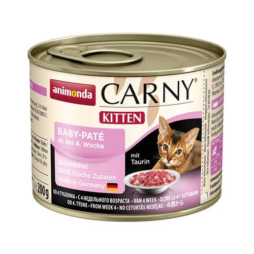 Animonda Carny Baby-Paté Kittenfutter - Dosen - 6 x 200 g