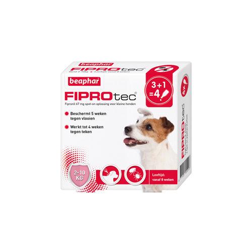 Beaphar FiproTec - Spot-On pour chien - 2 - 10 kg