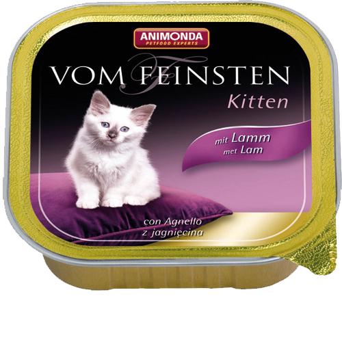 Animonda Vom Feinsten Kittenfutter - Lamm - 32 x 100 g