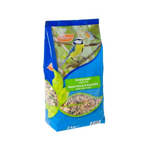 AllBirds&Co Streufutter mit Früchten - 2 kg