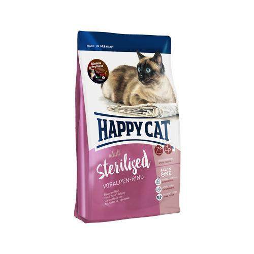 Happy Cat Adult Sterilised Katzenfutter - Voralpen-Rind