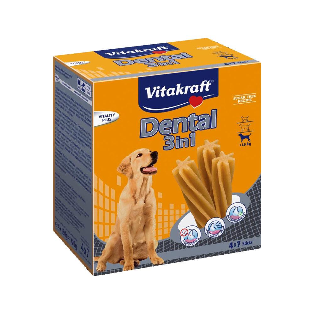 Vitakraft Mulitpack Dental Sticks 3 in 1 - M