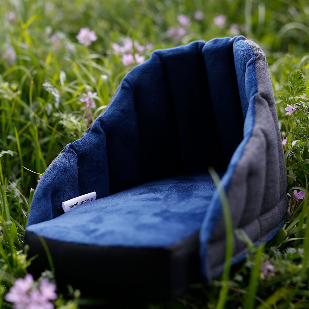 Dogrider Dog Seat Korb - Blau
