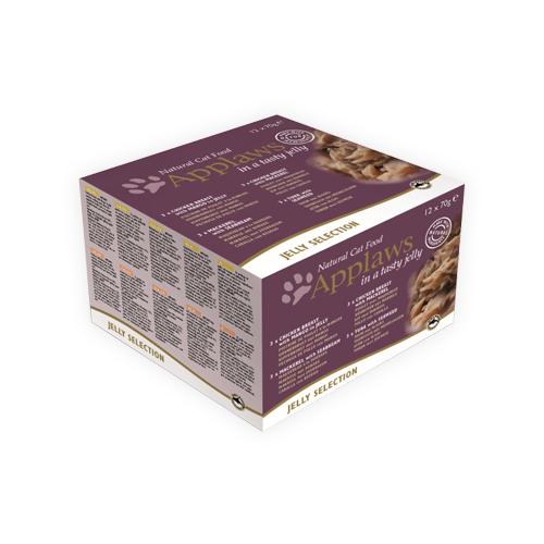 Applaws Jelly Collection Katzenfutter - Dosen - 12 x 70 g