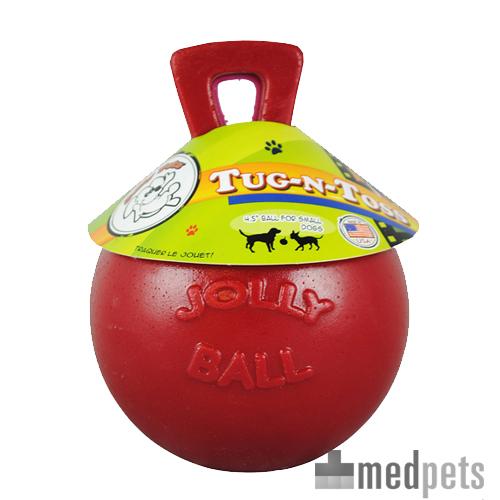 Jolly Ball Tug-n-Toss - Rouge