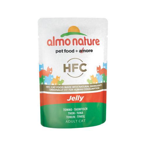 Almo Nature HFC Jelly - Thon- Sachet - 24 x 55 g