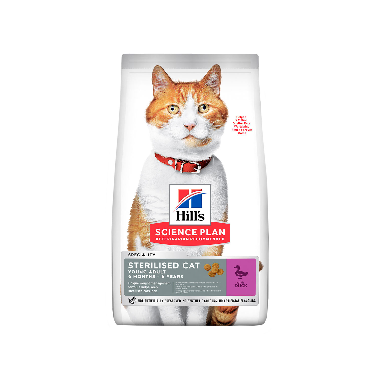 Hill's Science Plan - Feline Young Adult - Sterilised - Duck