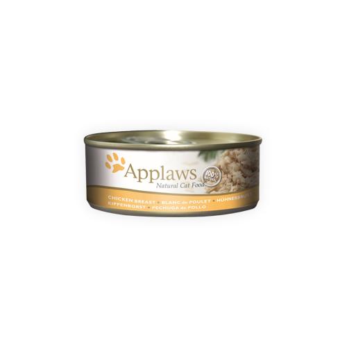 Applaws - Poitrine de poulet - Boîte - 24 x 156 g