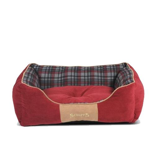Scruffs Highland Box Bed - Rouge