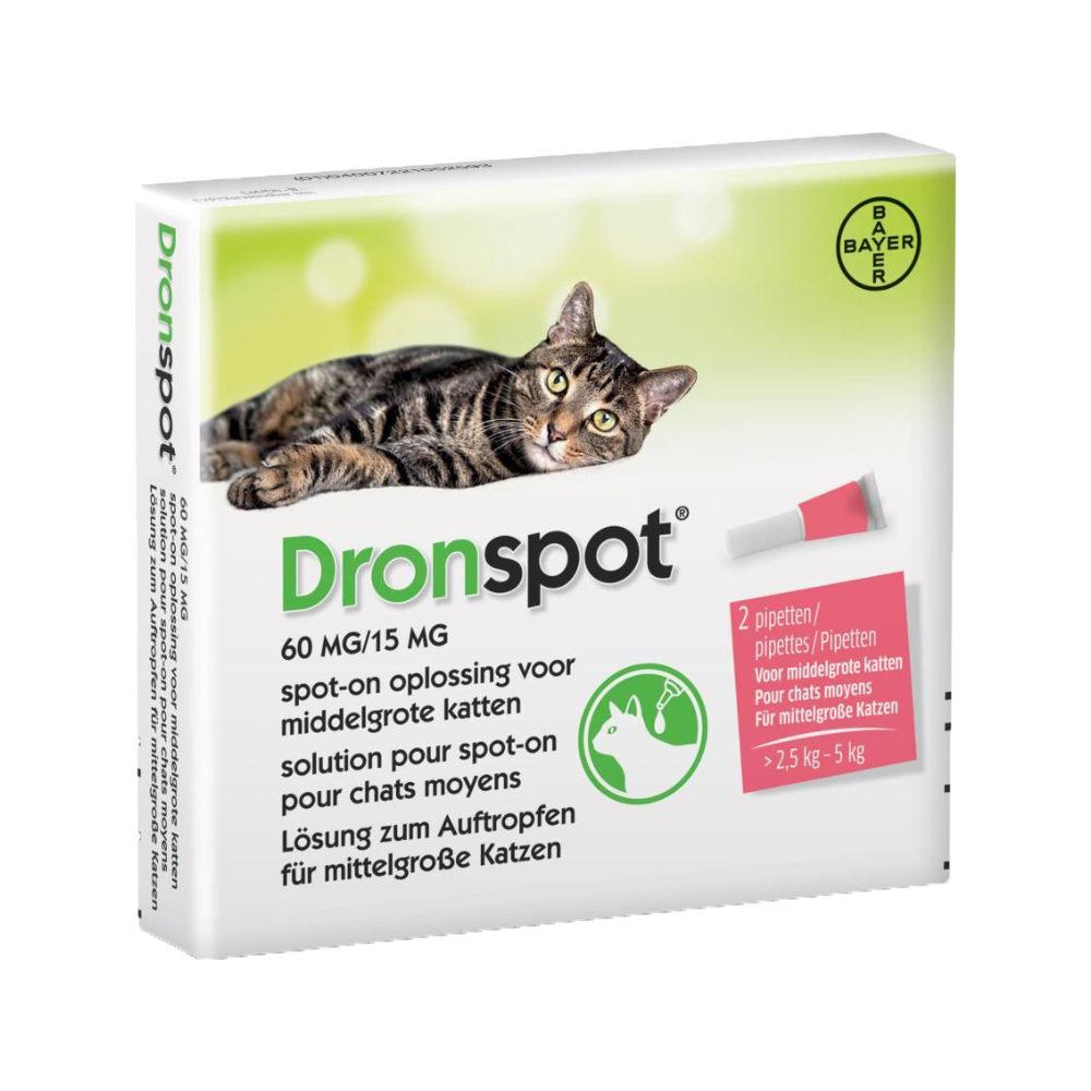 Dronspot - Spot-on - Moyen chat
