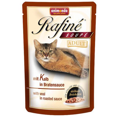 Animonda Rafiné Adult - Sachet - Veau en sauce - 12 x 100 g
