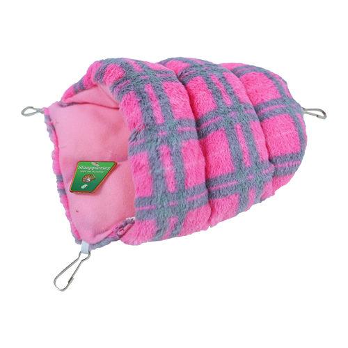Boon - Sac de couchage pour rongeur en peluche - Rose