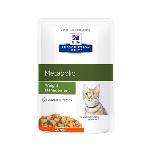 Hill's Prescription Diet Metabolic Weight Management Katzenfutter - Frischebeutel
