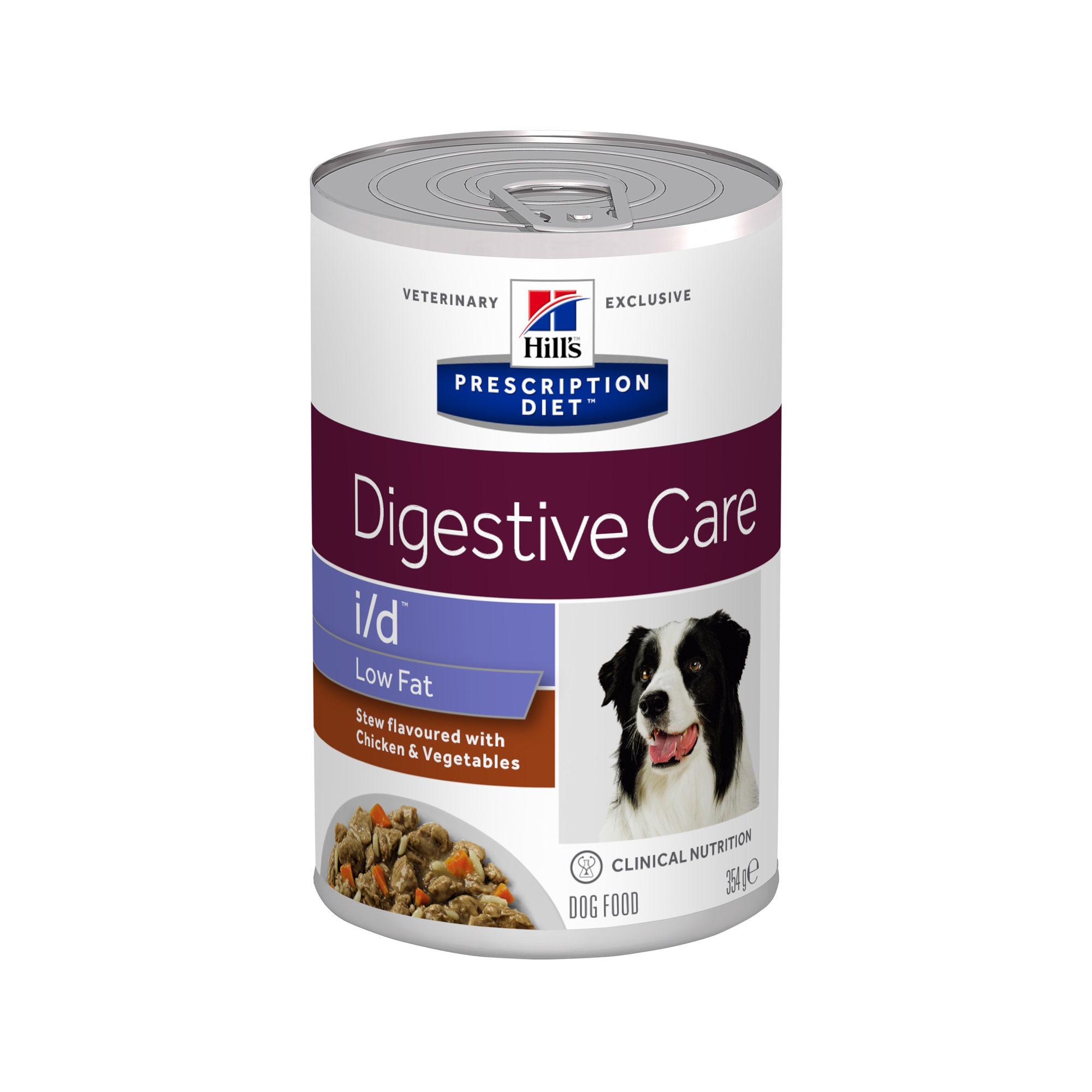 Hill's Prescription Diet i/d Digestive Care Low Fat Ragout Hundefutter - Dosen