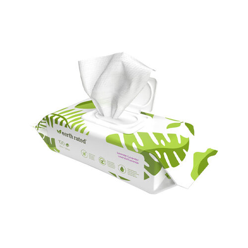 Earth Rated Dog Wipes Lavande