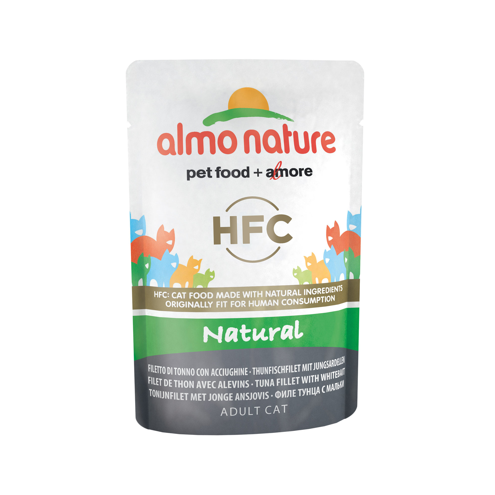 Almo Nature HFC Natural - Thon et blanchaille - Boîte - 24 x 55 g