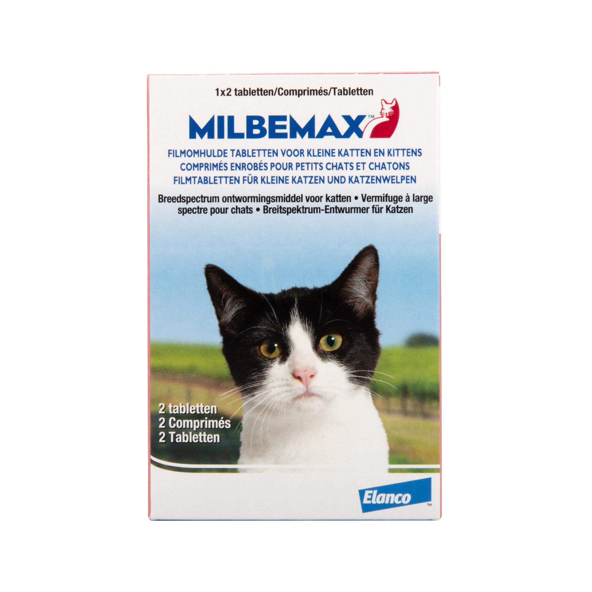 Milbemax - Kleine Katze - 2 Tabletten