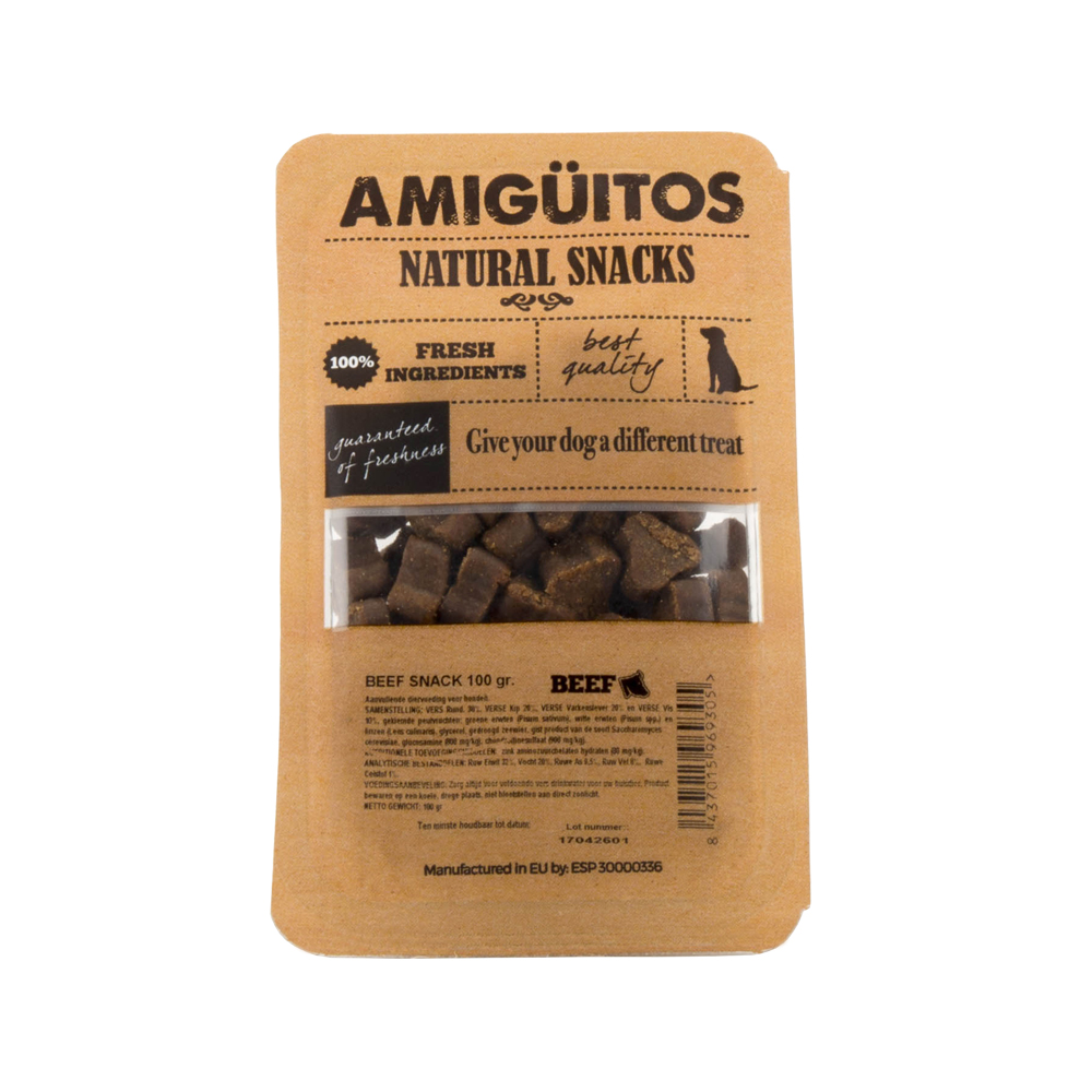 Amigüitos Friandises - Bœuf  - 100 g