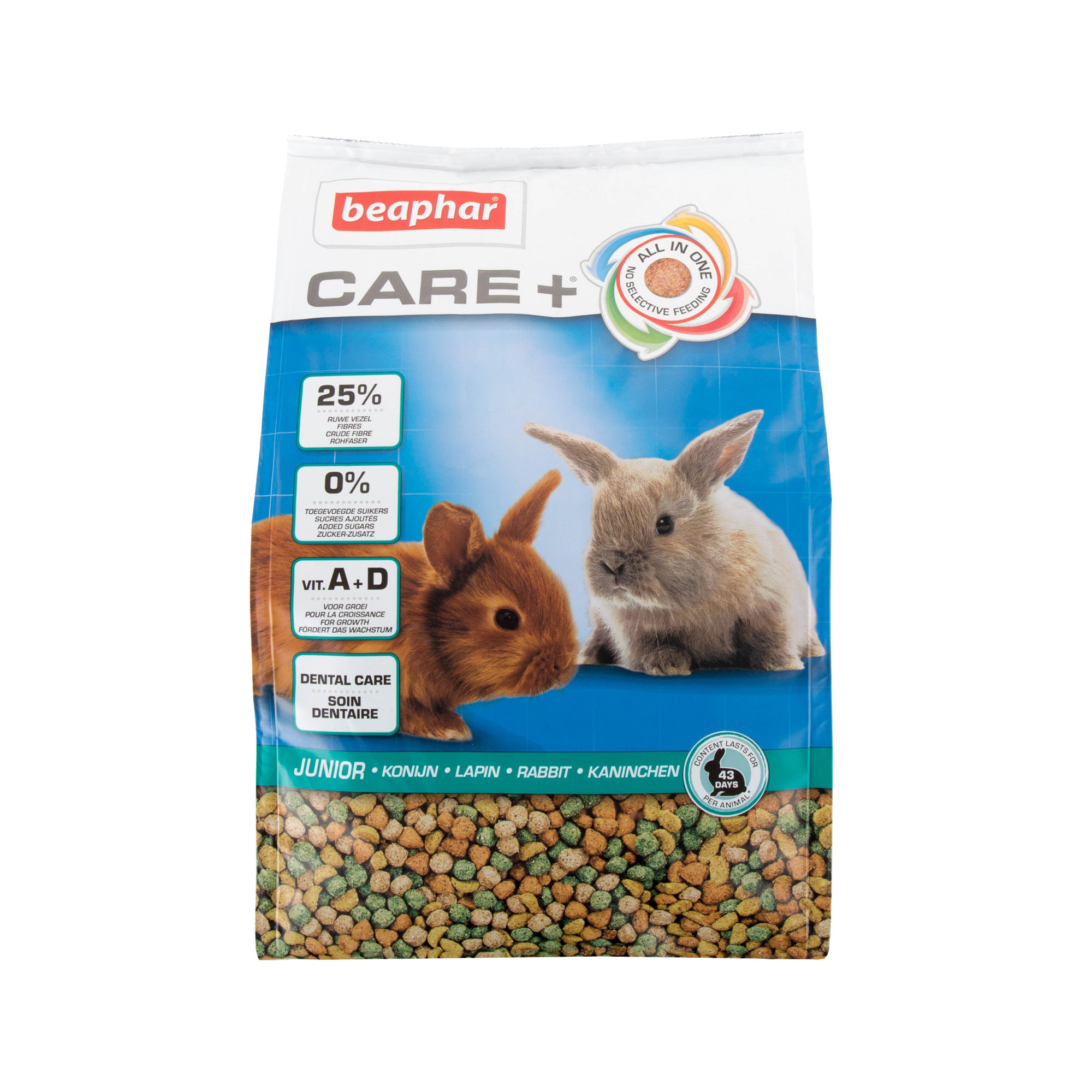 Beaphar Care+ - Lapin junior - 1,5 kg