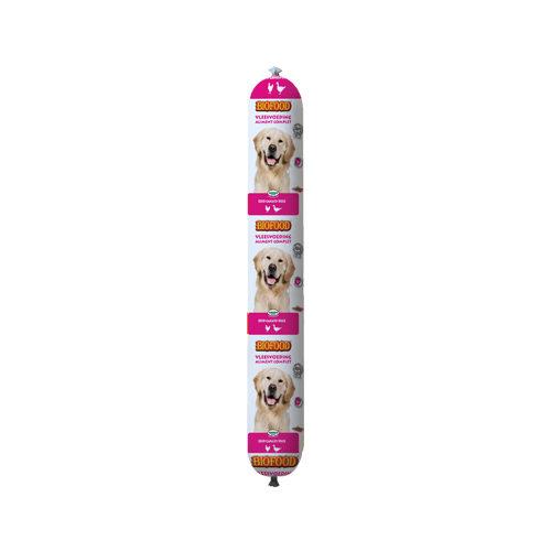 Biofood Frischfleisch Hundefutter - Wurst - Ente - 800 g