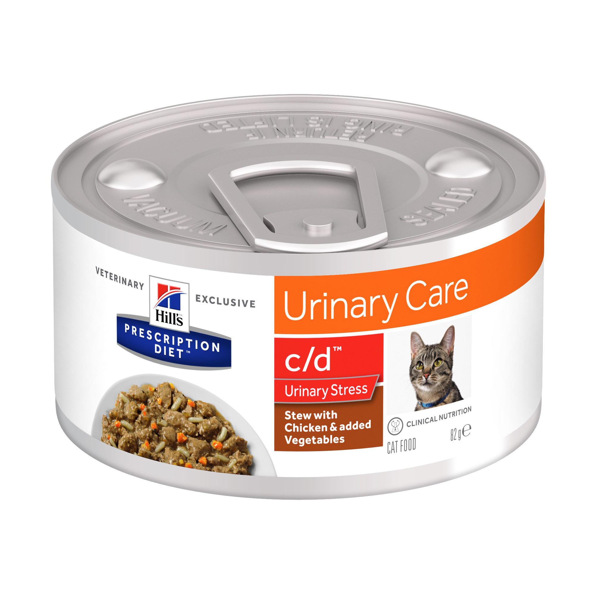 Hill's Prescription Diet c/d Urinary Stress Ragout Katzenfutter - Dosen