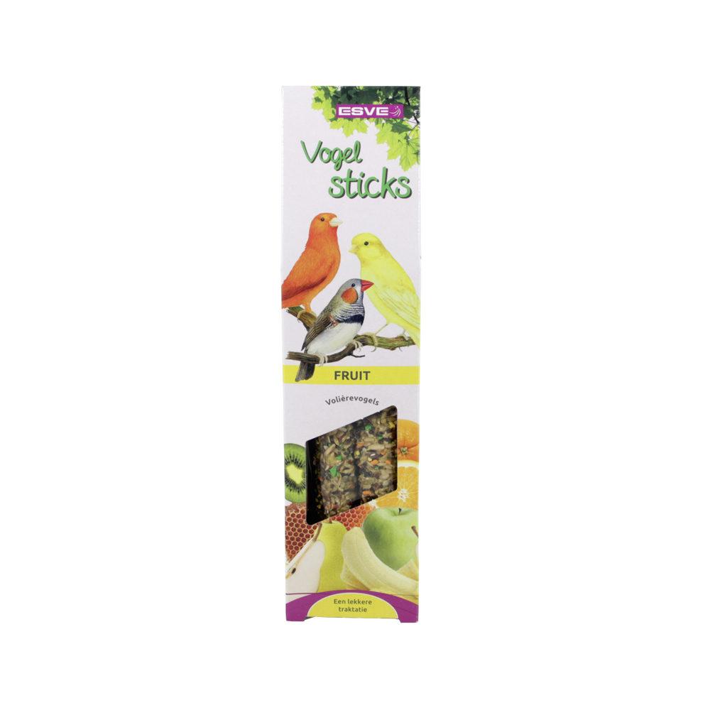 Esve - Bâtonnets pour oiseau - Oiseaux de volière - Fruits des bois