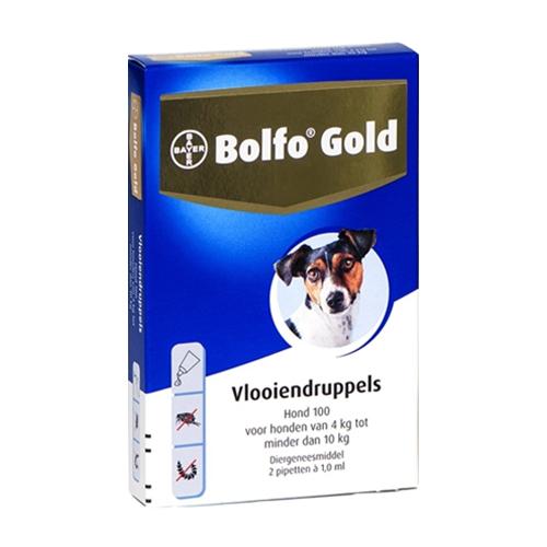 Bolfo Gold Chien 100 - 2 pipettes