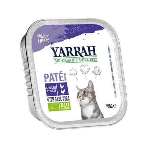Yarrah Multipack Bio Paté Katzenfutter - Huhn & Pute