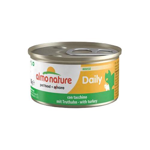 Almo Nature Daily Menu Mousse Katzenfutter - Dosen - Truthahn - 24 x 85 g